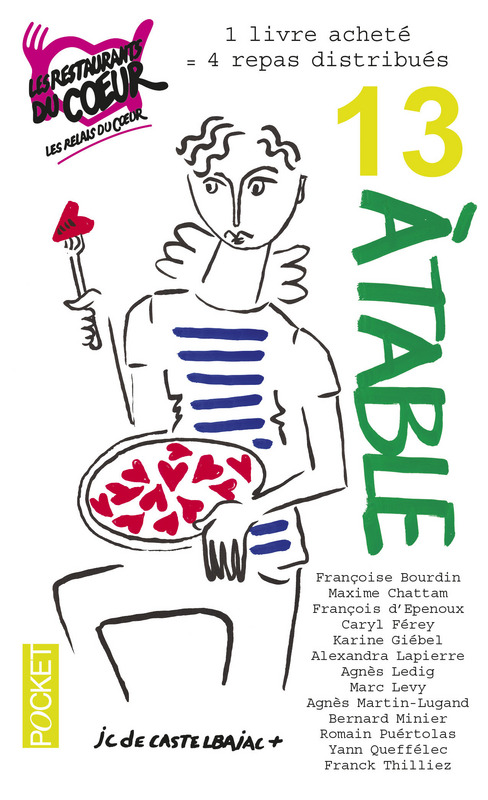 13 à table ! 2017 - Collectif - Editions Pocket