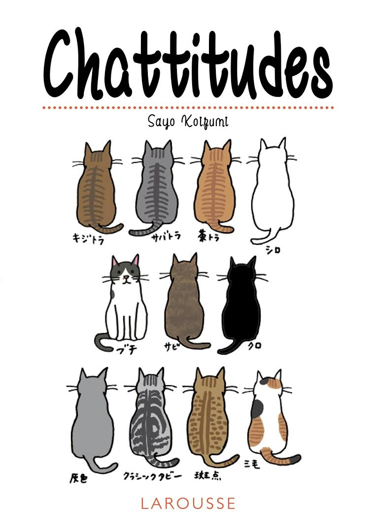 Chattitudes - Sayo Koizumi - Editions Larousse