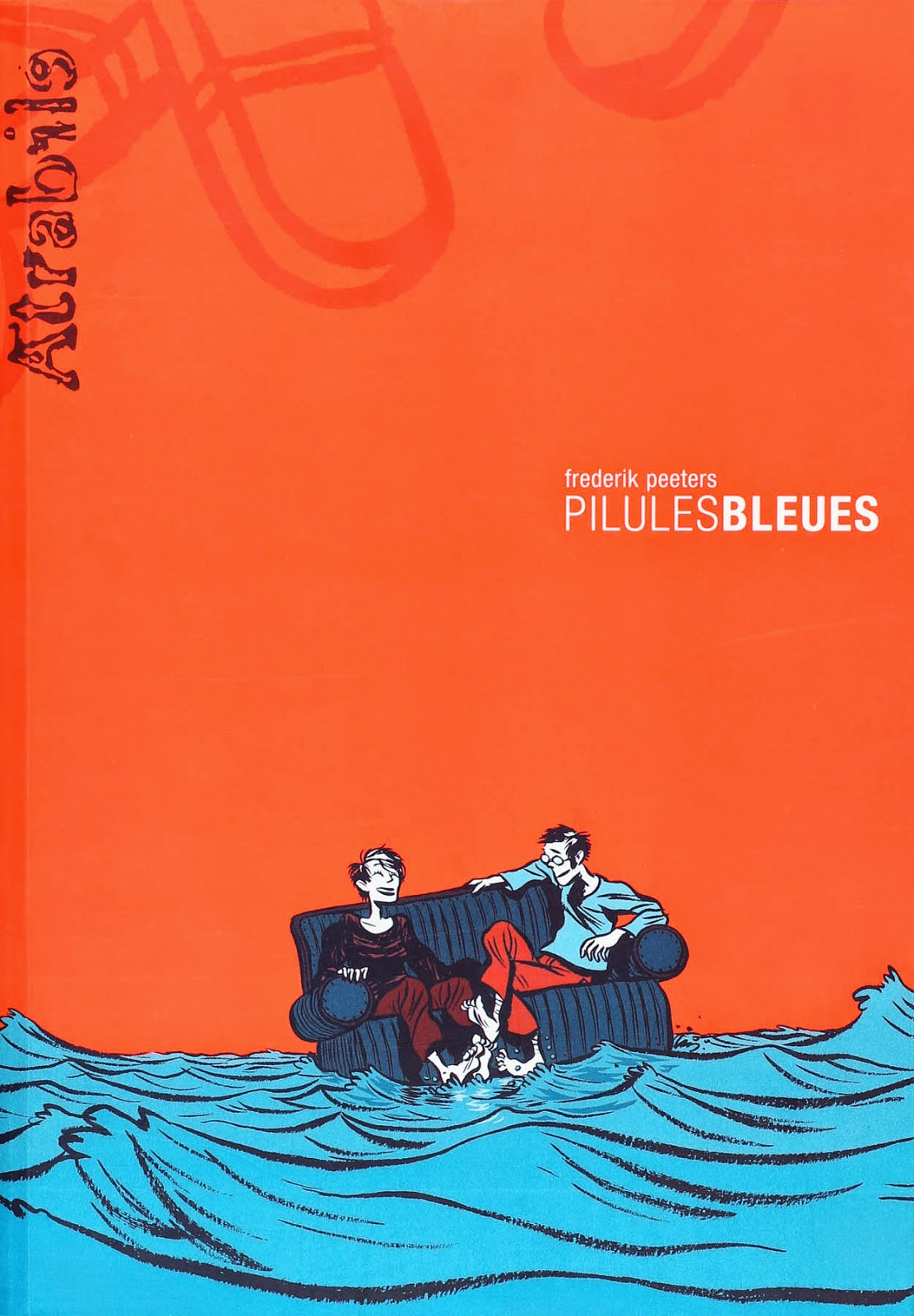 Pilules Bleues - Frederik Peeters - Editions Atrabile